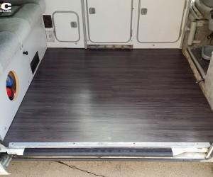 Vinyl wood floor upgrade
