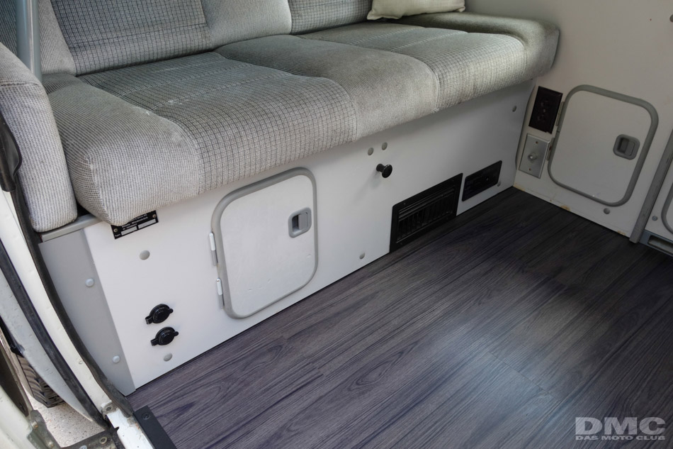Vinyl Wood Floor Upgrade Vanagon Hacks Amp Mods
