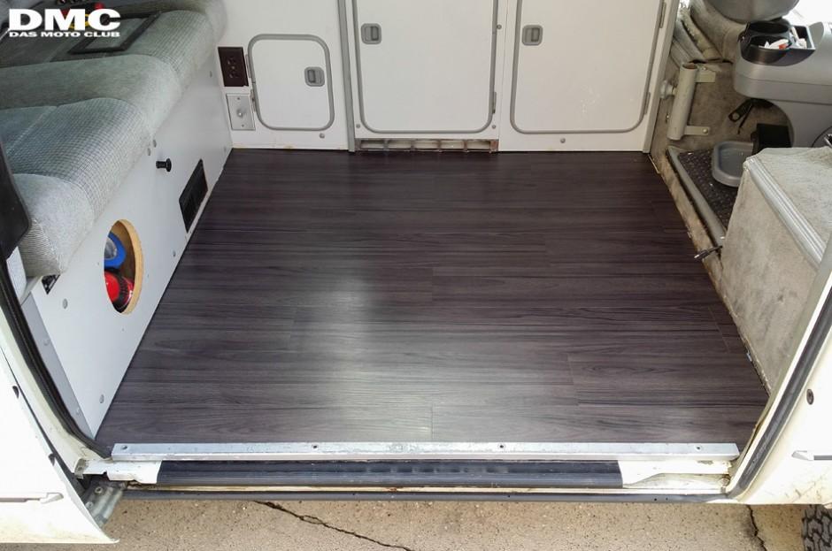 Vinyl Wood Floor Upgrade Vanagon Hacks Amp Mods