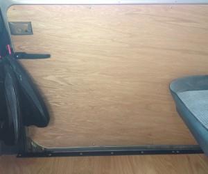 Custom made wood door panels