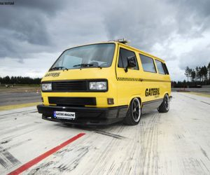Yellow Cab Vanagon