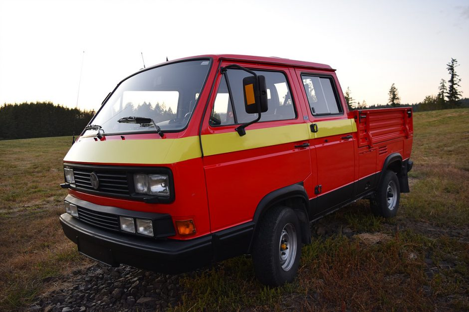 Striped 1990 Tristar Syncro Truck Vanagon Hacks Amp Mods